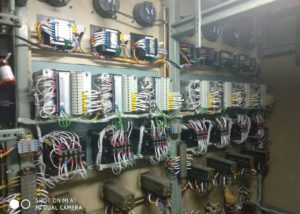 Relay Retrofitting work